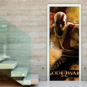 Adesivo de Porta God of War Playstation Game