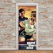 Adesivo de Porta GTA Game Playstation