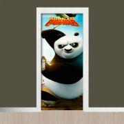 Adesivo de Porta Filme Kong Fu Panda