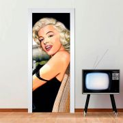 Adesivo de Porta Marilyn Monroe