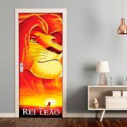 Adesivo de Porta O Rei Leão