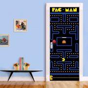 Adesivo de Porta Pac Man