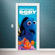 Adesivo de Porta Filme Procurando Nemo Dory