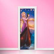 Adesivo de Porta Rapunzel