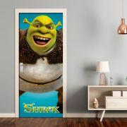Adesivo de Porta Shrek