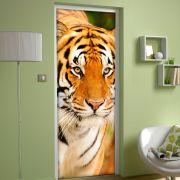 Adesivo de Porta Tigre