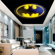 Adesivo Decorativo de Teto Logo Batman