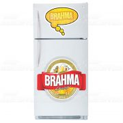 Adesivo de Geladeira Brahma
