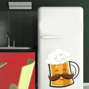 Adesivo de Geladeira Cerveja