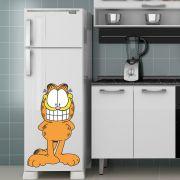 Adesivo de Geladeira Garfield Sorrindo