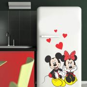 Adesivo de Geladeira Mickey e Minnie