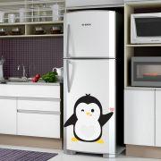 Adesivo de Geladeira Pinguim Piscando