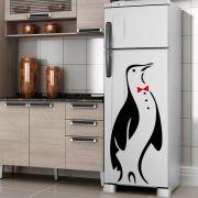 Adesivo de Geladeira Pinguim de Gravata