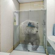 Adesivo de Box Urso