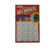 Anti impacto redondo transparente 2,0 cm 16 peças