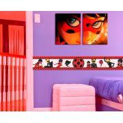 Faixa Infantil Miraculous Ladybug