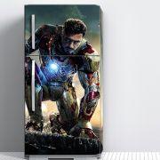 Envelopamento de Geladeira Filme Homem de Ferro Tony Stark