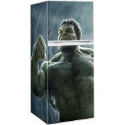 Envelopamento de Geladeira Filme Hulk