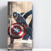 Envelopamento de Geladeira Filme Os Vingadores Capitão América
