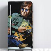 Envelopamento de Geladeira John Lennon