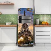 Envelopamento de Geladeira Paris Torre
