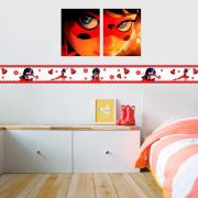 Faixa Infantil Ladybug Vermelha