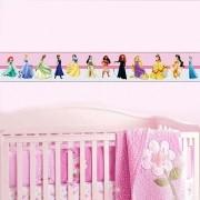 Faixa Infantil Princesas de Vestidos Coloridos