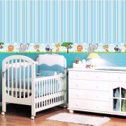 Faixa Infantil Safari Azul