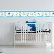 Faixa Infantil Anjo Passarinho e Nuvem Azul