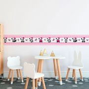 Faixa Infantil Ursinho Panda Rosa