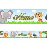Faixa Personalizada Safari Azul