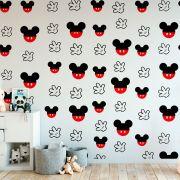 Papel de Parede Autoadesivo Mickey Mouse