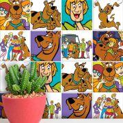 Papel de Parede Autoadesivo Scooby Doo