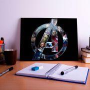 Placa Decorativa Personalizada Avengers
