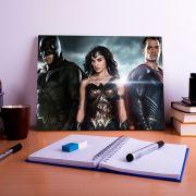 Placa Decorativa Personalizada Batman VS SuperMan