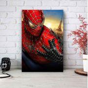 Placa Decorativa Personalizada Homem Aranha Vermelho