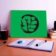 Placa Decorativa Personalizada Mão do Hulk