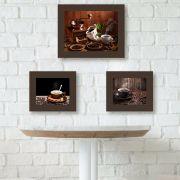 Quadro de Cozinha Café com Canela