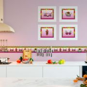 Quadro de Cozinha Kit Açaí