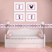Quadro Infantil Minnie Pink