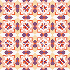 Adesivo de Azulejo Rose