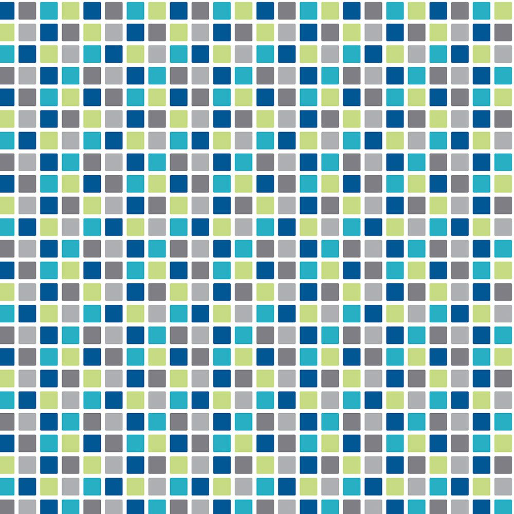 Adesivo  de Azulejo Pastilhas Coloridas