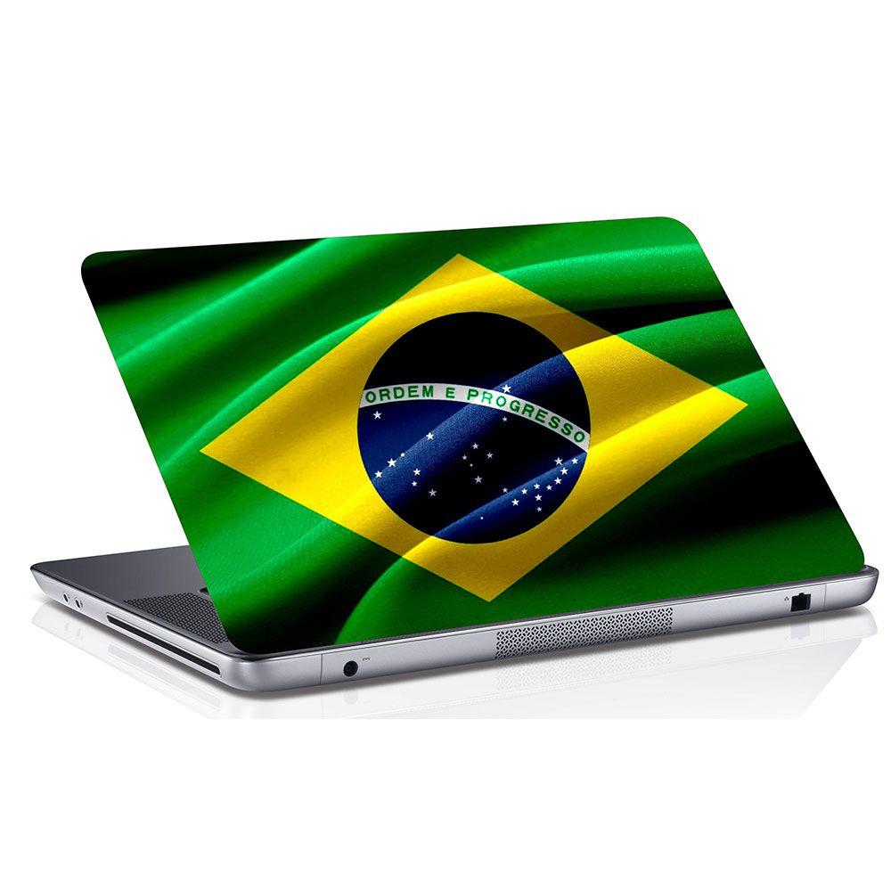 Adesivo de Notebook Bandeira do Brasil