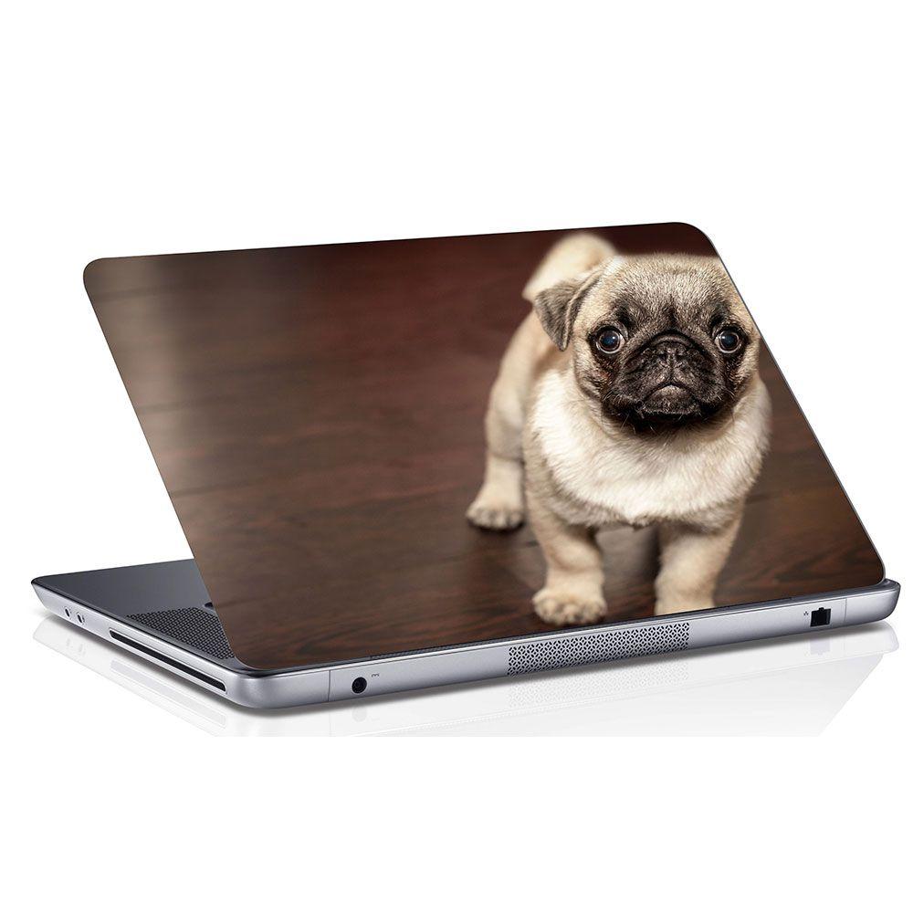 Adesivo de Notebook Cachorro Pug