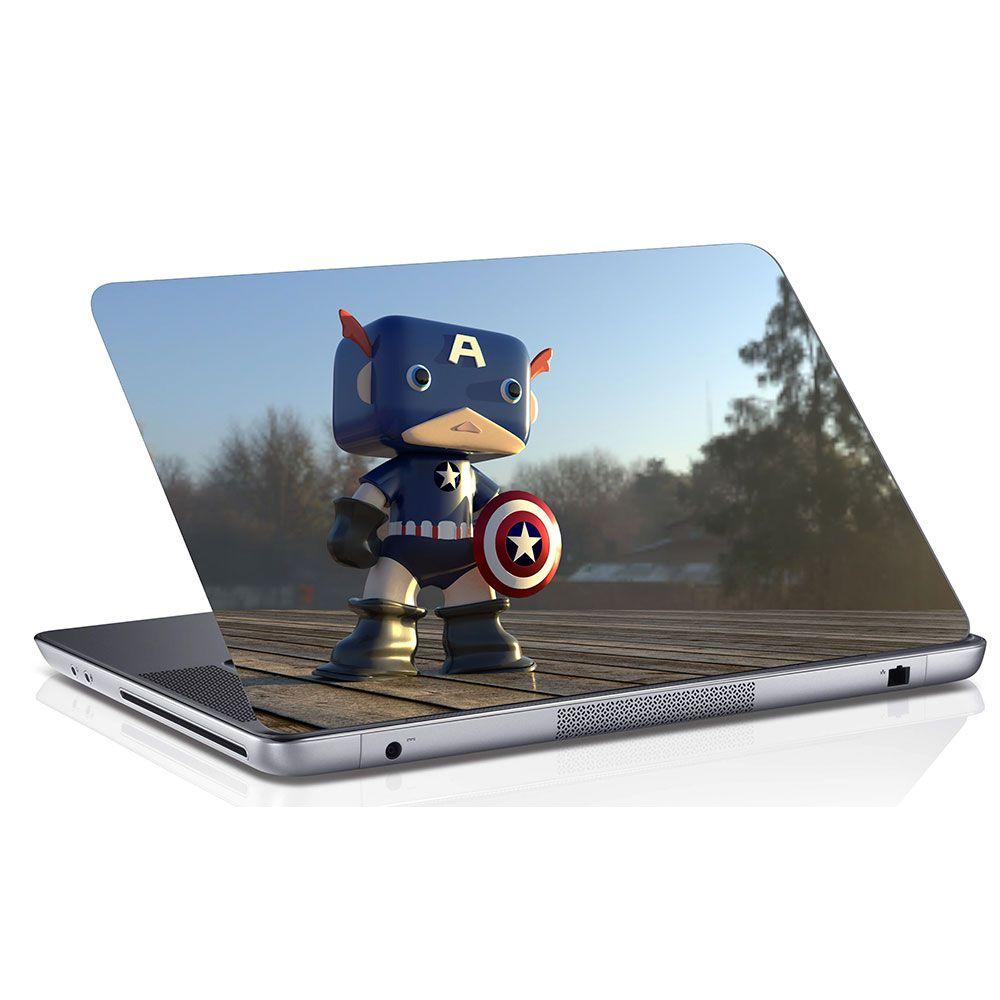 Adesivo de Notebook Lego Capitão América