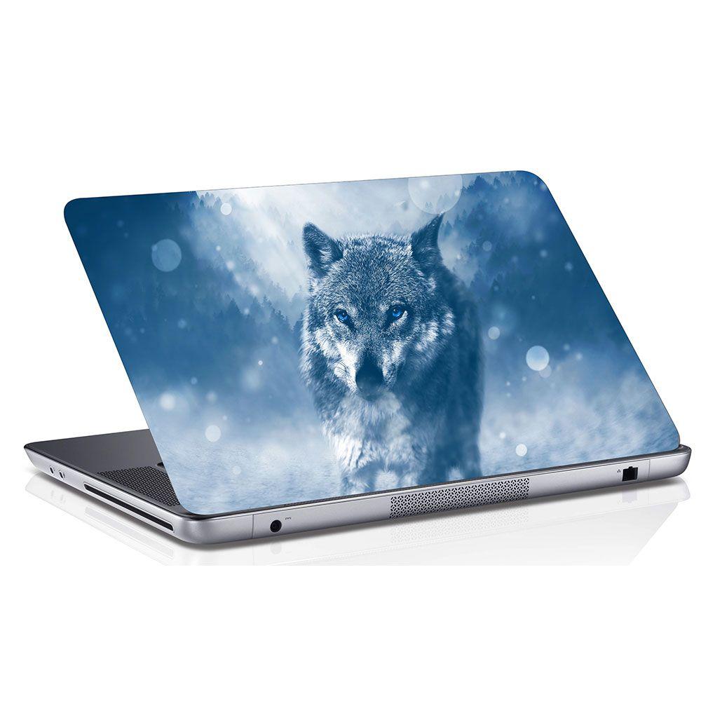 Adesivo de Notebook Lobo