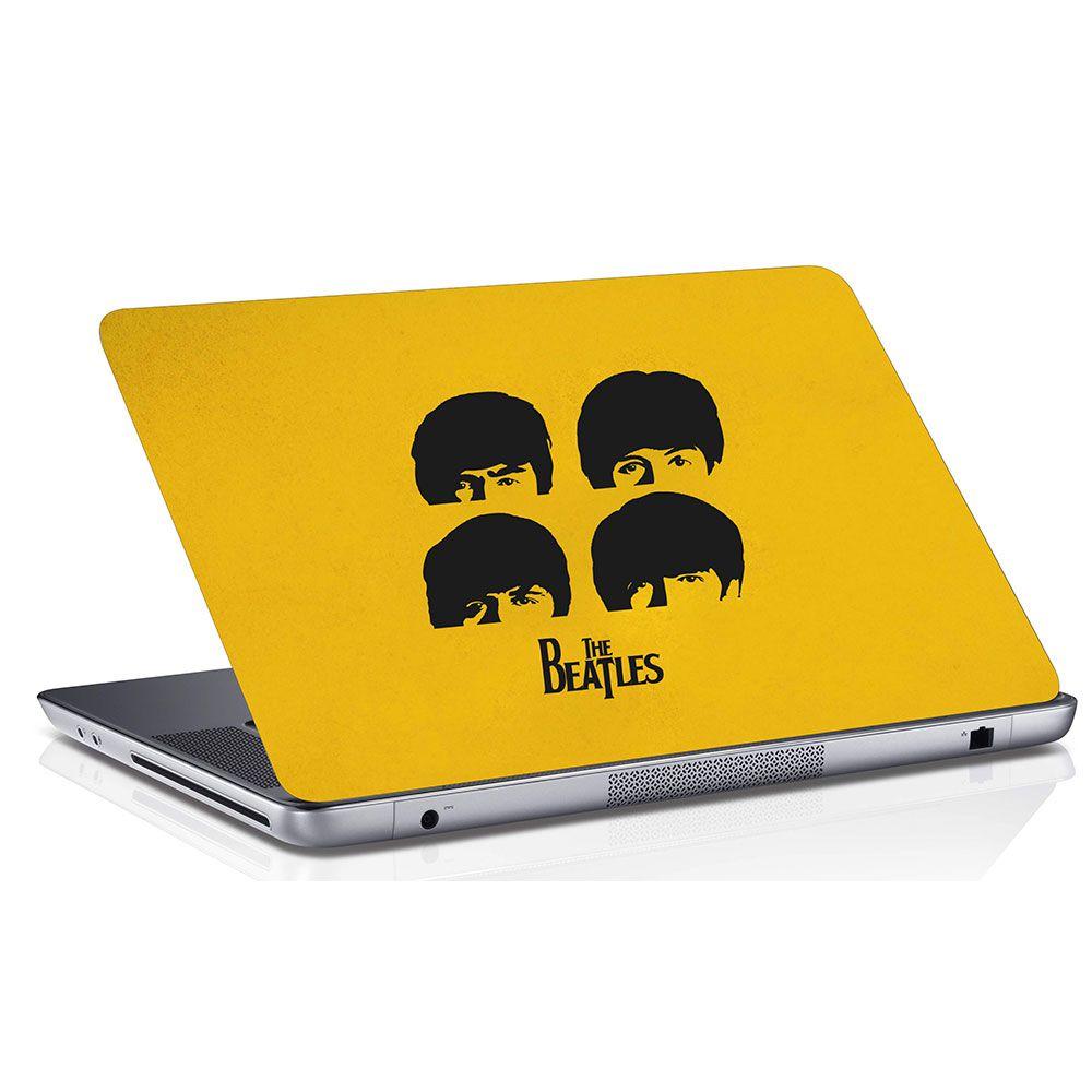 Adesivo de Notebook Os Beatles Integrantes