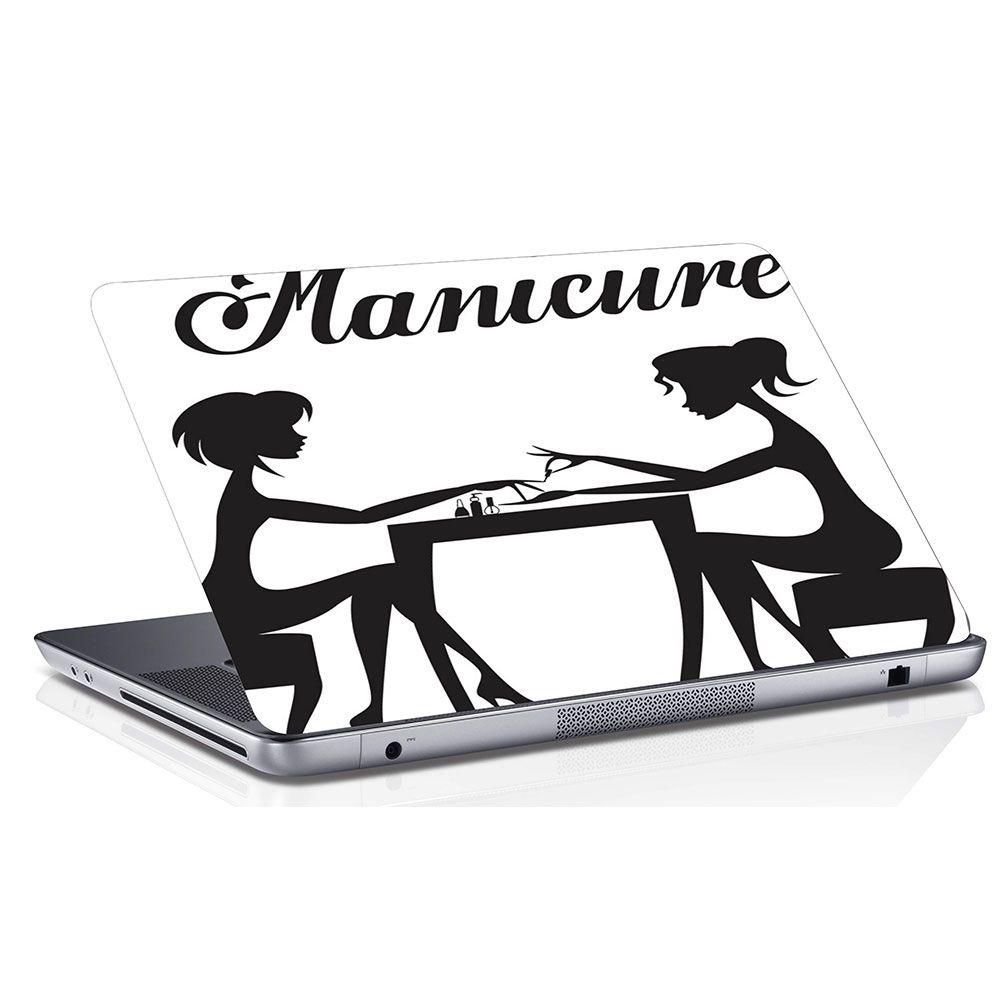 Adesivo de Notebook Profissão Manicure