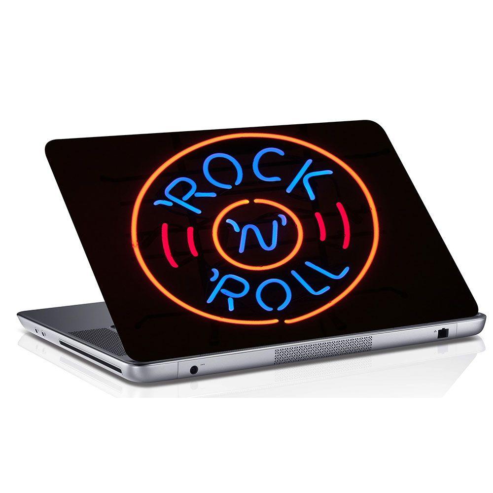 Adesivo de Notebook Rock And Roll