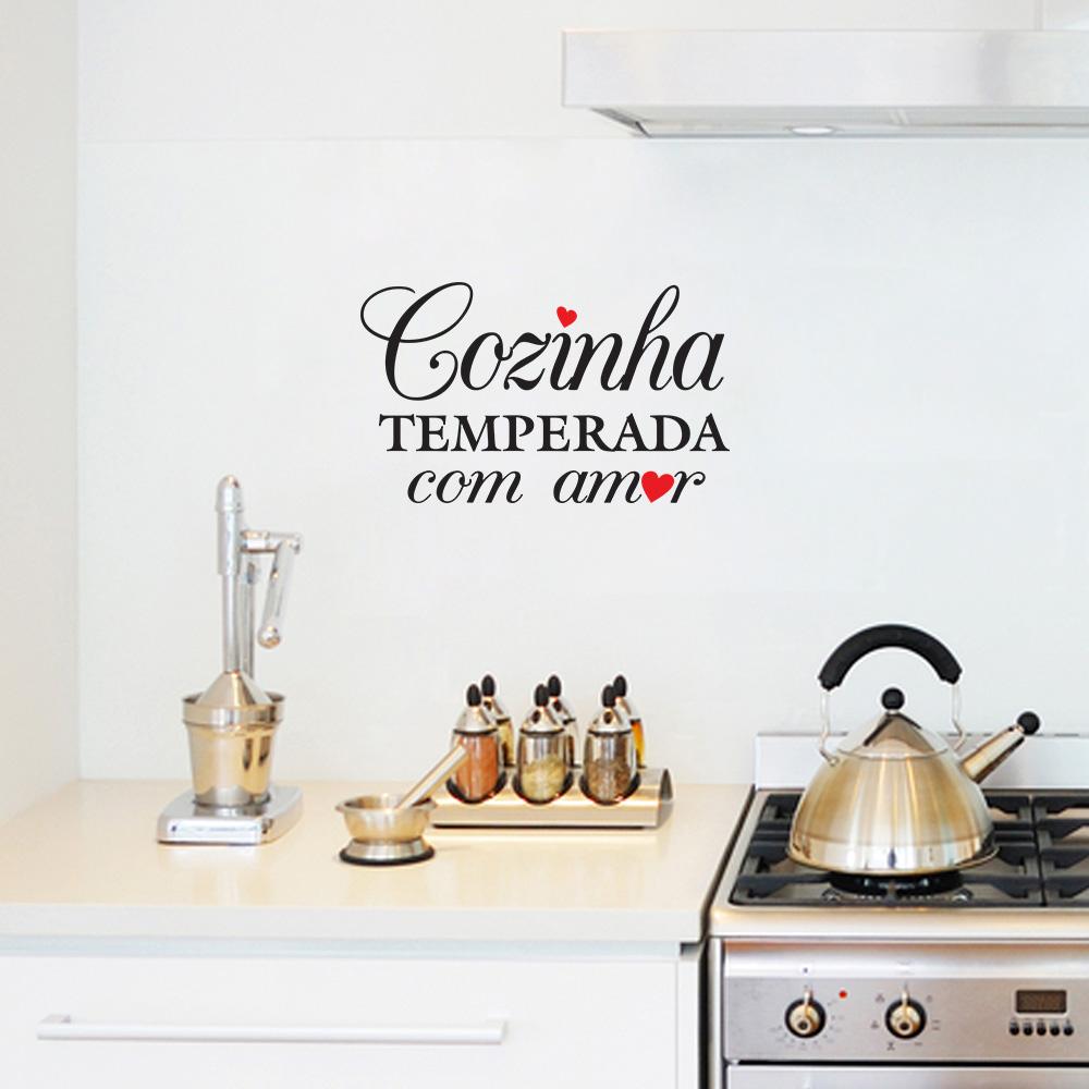 Adesivo Para Parede Herois ~ Adesivo de Parede Cozinha Cozinha Temperada SHOP ADESIVOS